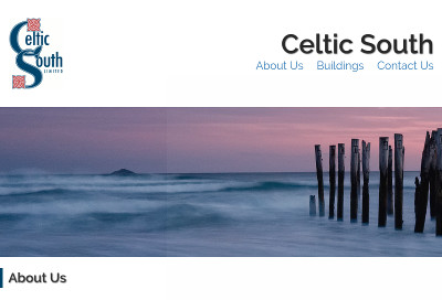 Design of Celtic South website