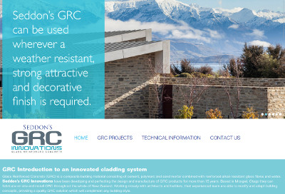 Design of GRC Innovations website
