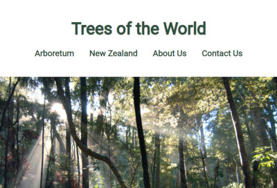 Trees of the World website